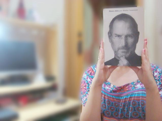 capa do livro Biografia do Steve Jobs por Walter Isaacson