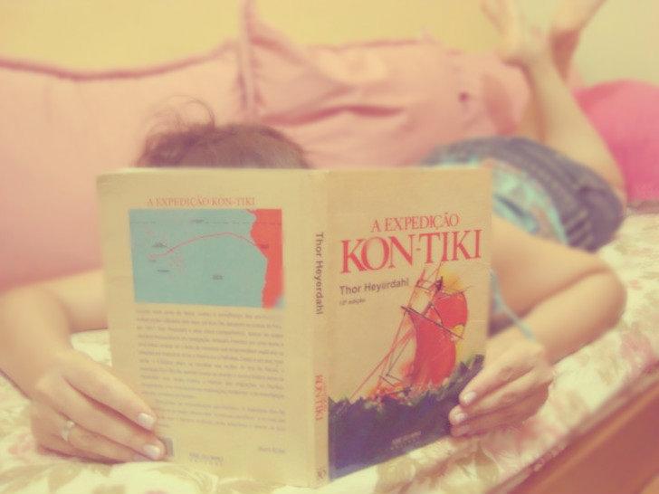 Livro A Expedição Kon-Tiki