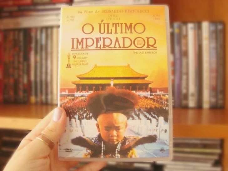 capa do filme O último imperador