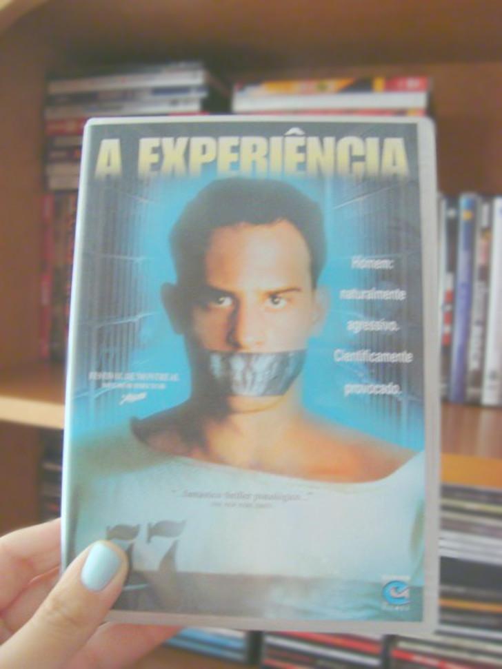Capa do filme A Experiência