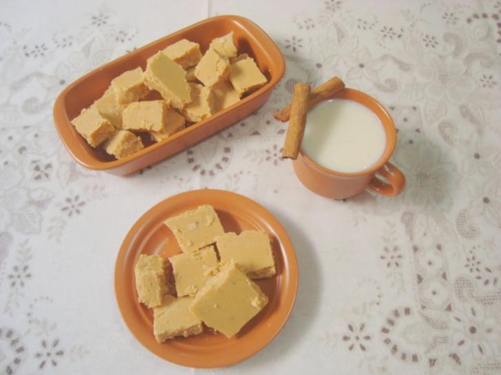 Doce de leite em pedaços