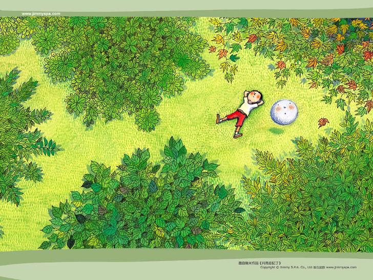 ilustrações de Jimmy Liao