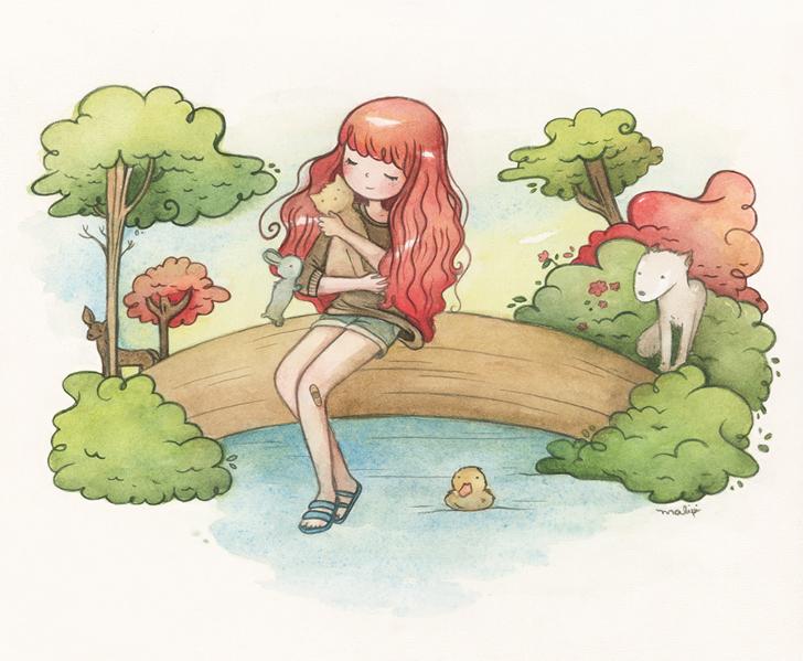 Ilustração de Mariana Valente