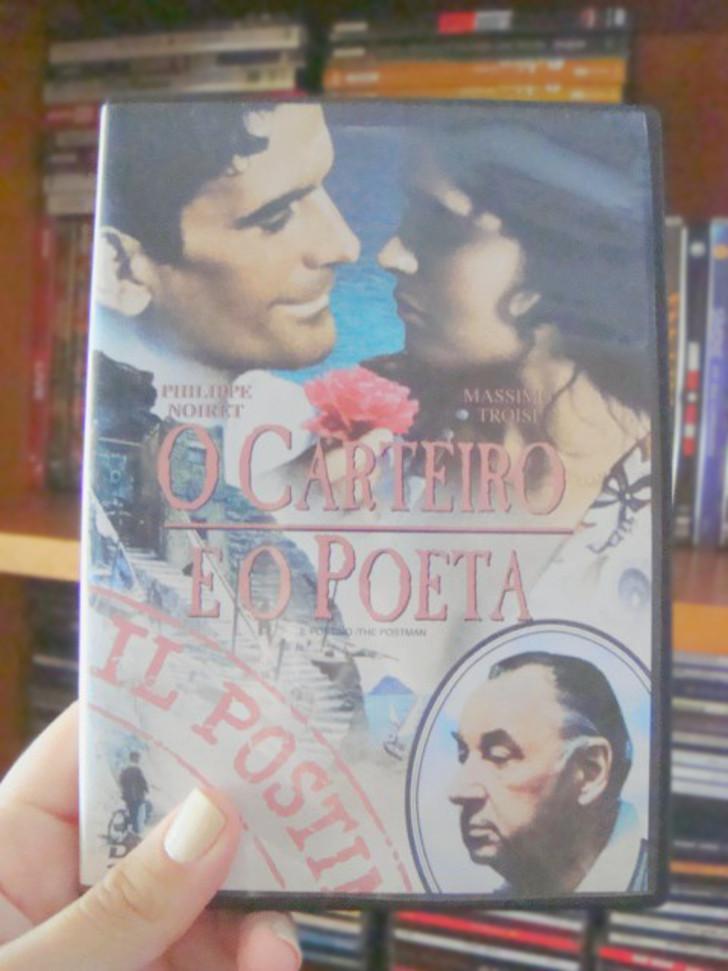 capa do filme O Carteiro e o Poeta