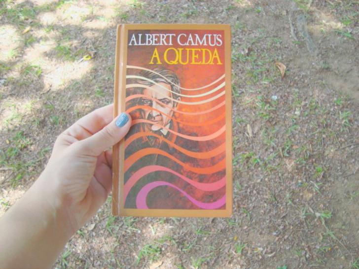 capa do livro A Queda de Albert Camus