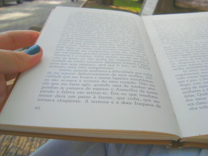 pagina do livro A Queda de Albert Camus