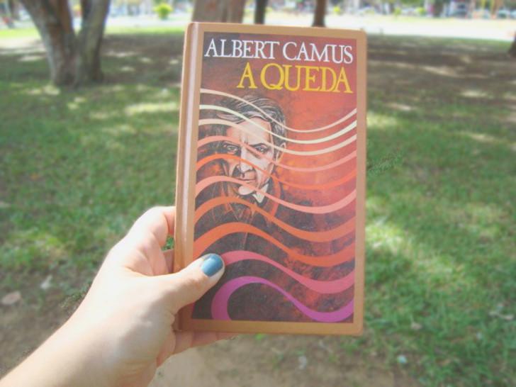 capa livro A Queda de Albert Camus