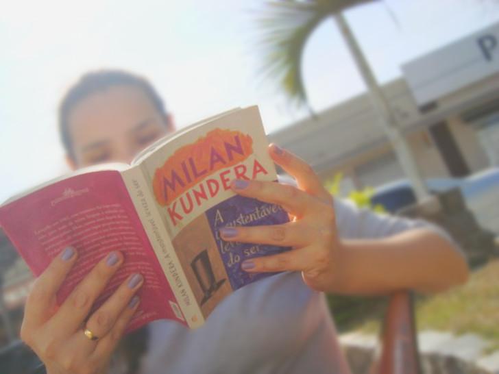 livro A insustentável leveza do ser de Milan Kundera