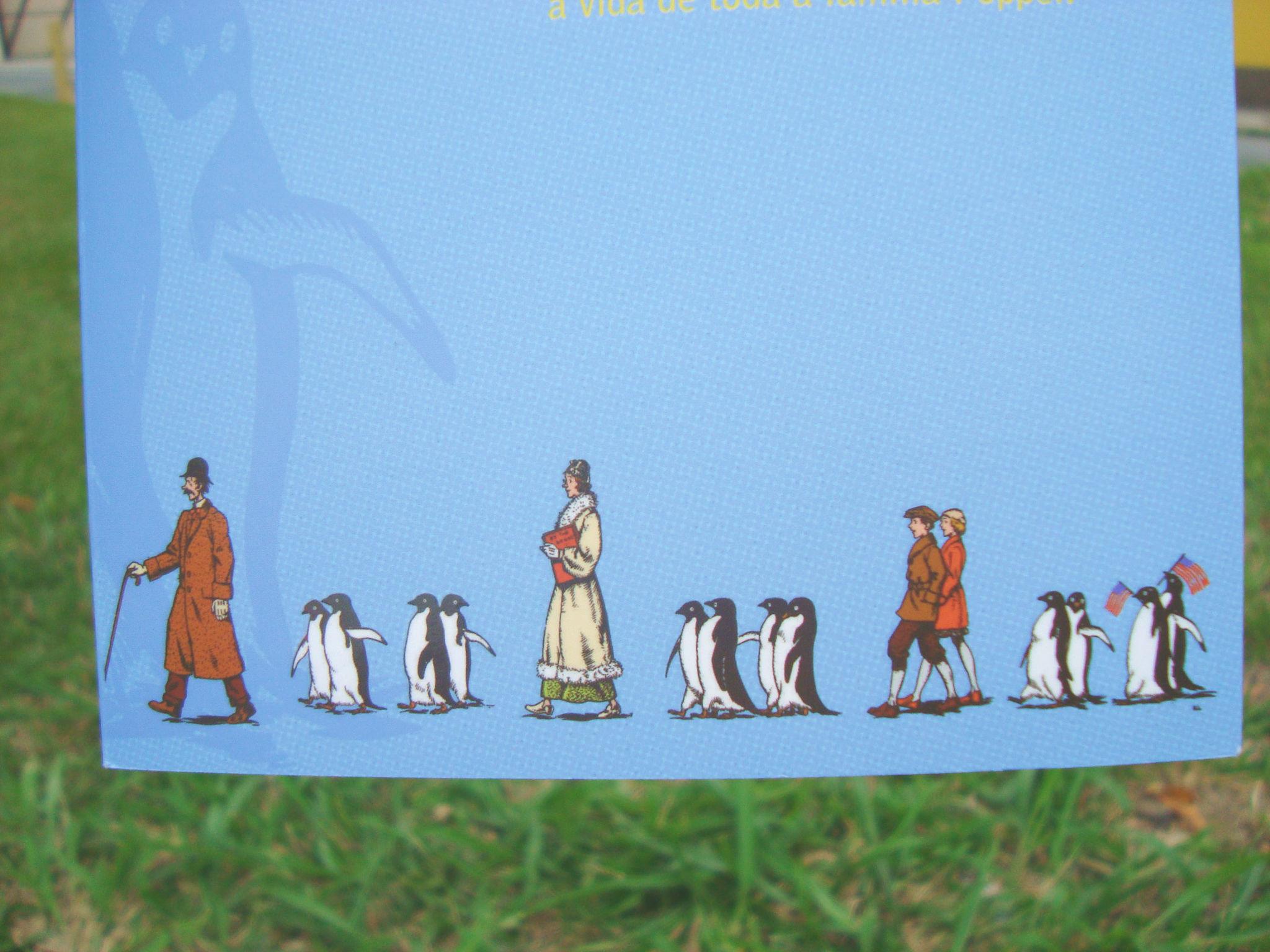Capa do livro Os pinguins do Sr Popper