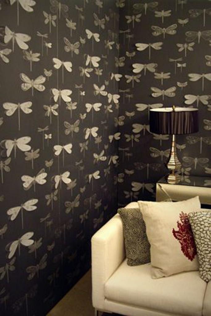 Papel de parede com borboletas