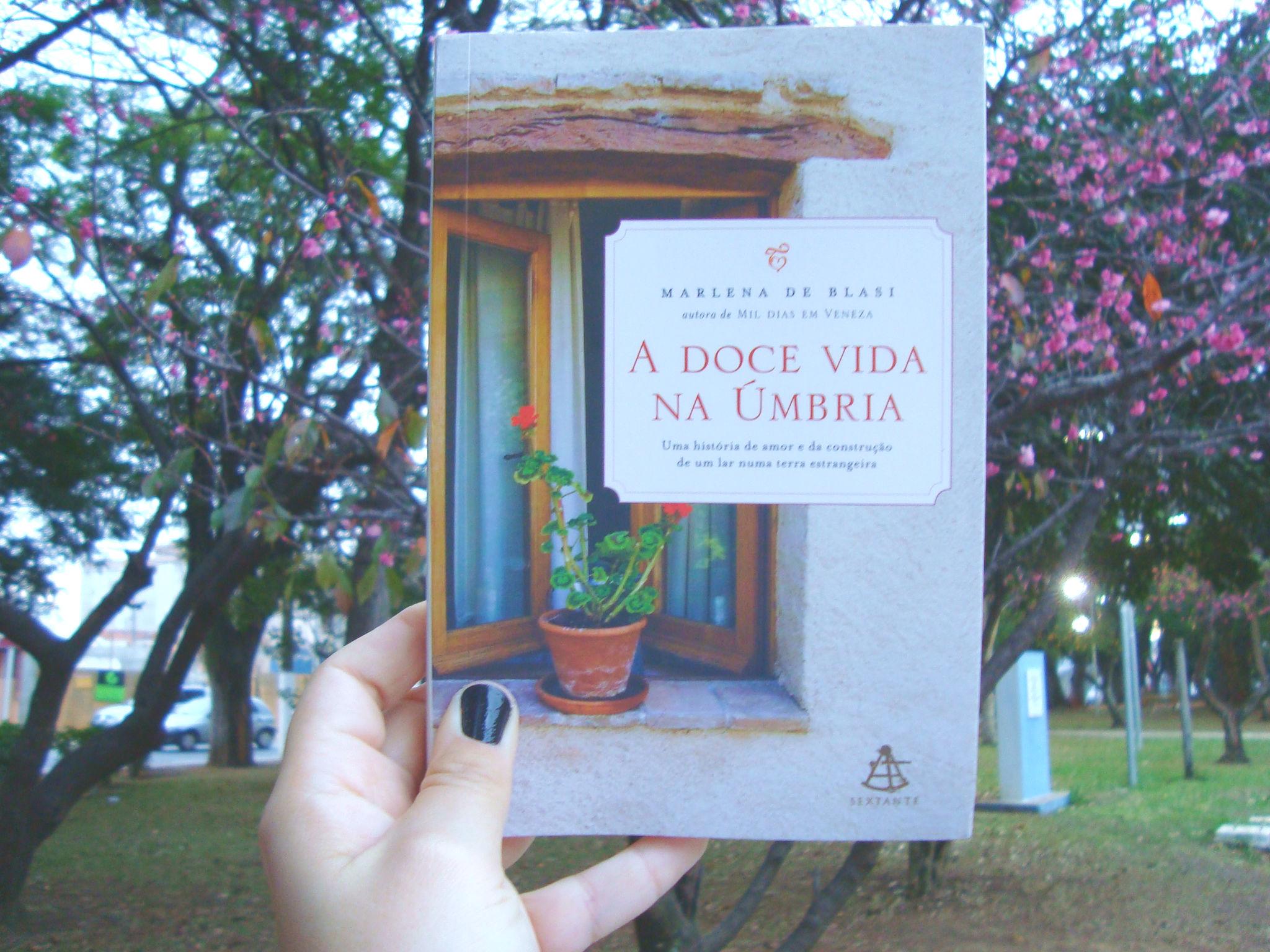 Capa do livro A doce vida na Úmbria