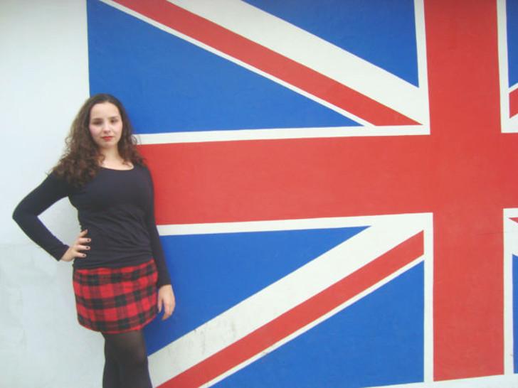 Achei uma parede com a bandeira do Reino Unido :)
