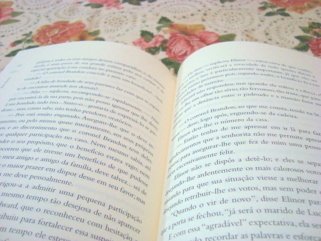 páginas do livro Razão e Sentimento