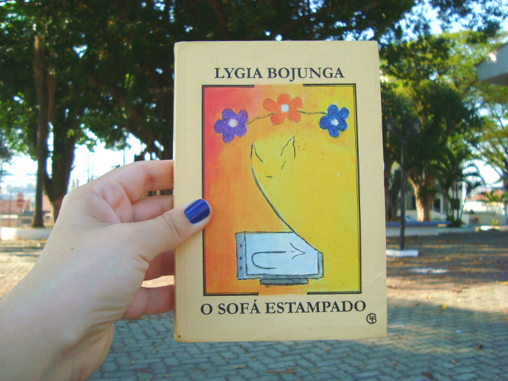 Capa do livro O Sofá Estampado