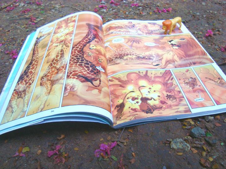 Livro Os leões de Bagdá