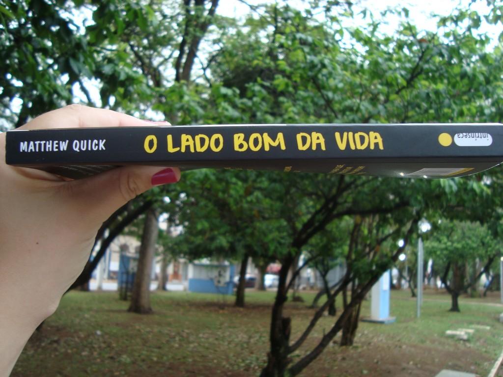 Lombada do livro O lado bom da vida