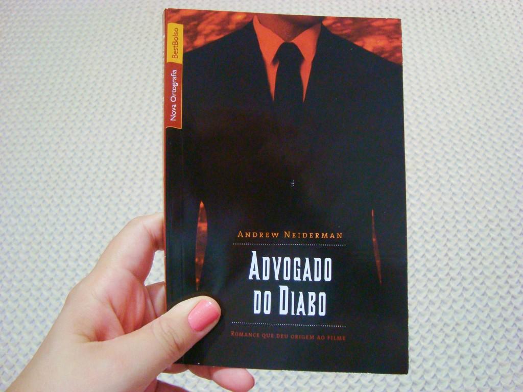 Capa do livro Advogado do Diabo