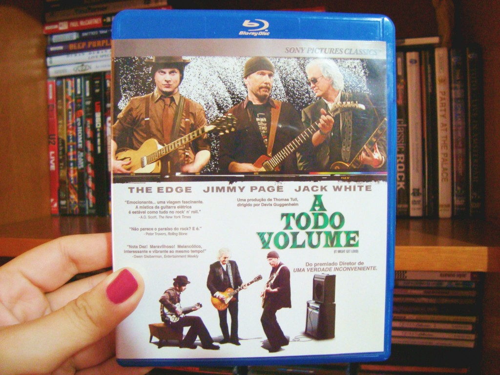 Capa Blu-ray do filme A todo volume -  It might get loud
