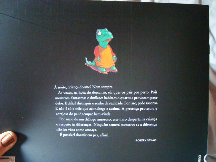 Livro Papai do projeto: Leia para uma criança do banco Itaú
