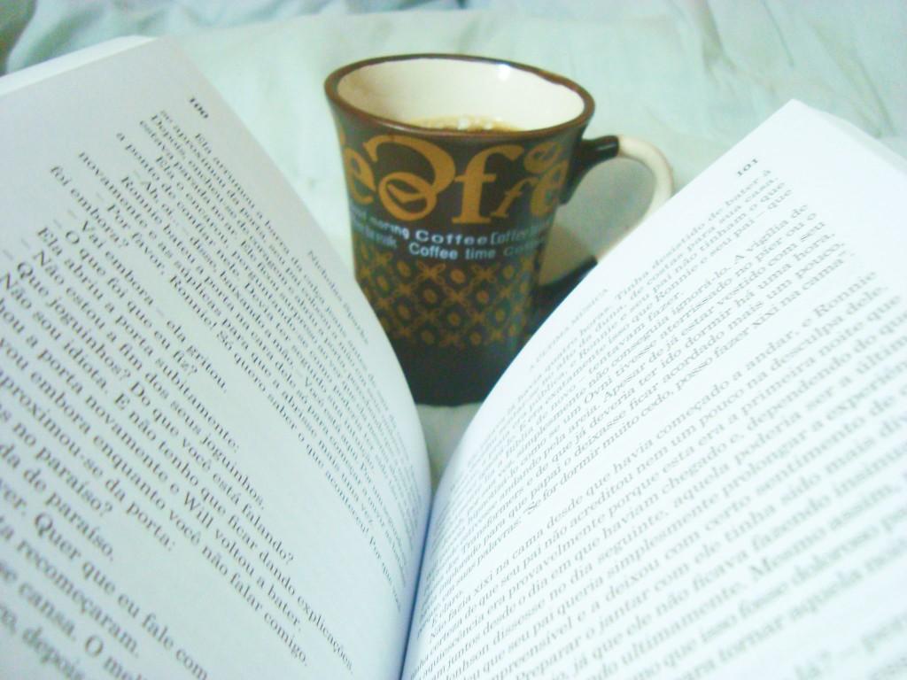 """páginas do livro """"A última música"""""""