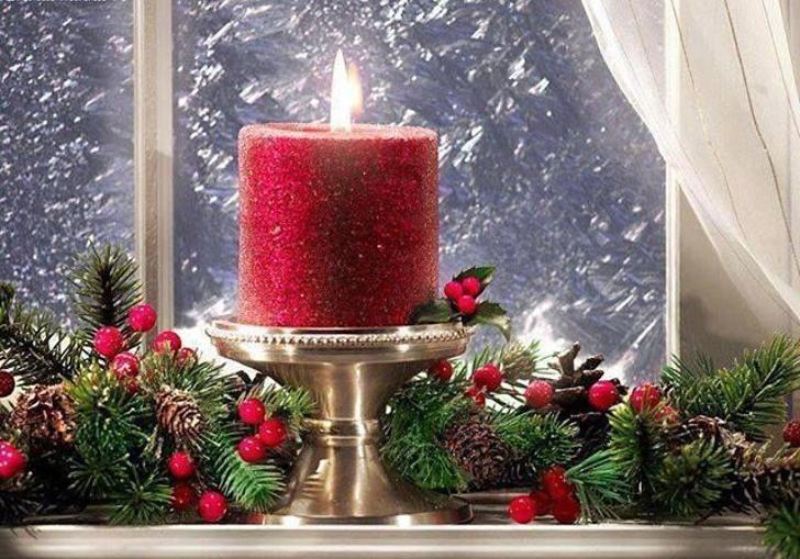 Velas decorativas de Natal 00