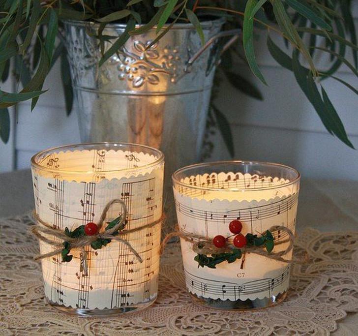 Velas decorativas de Natal 01