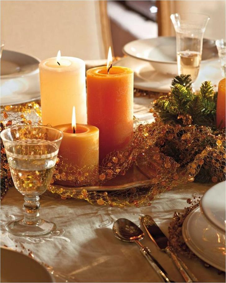 Velas decorativas de Natal 02