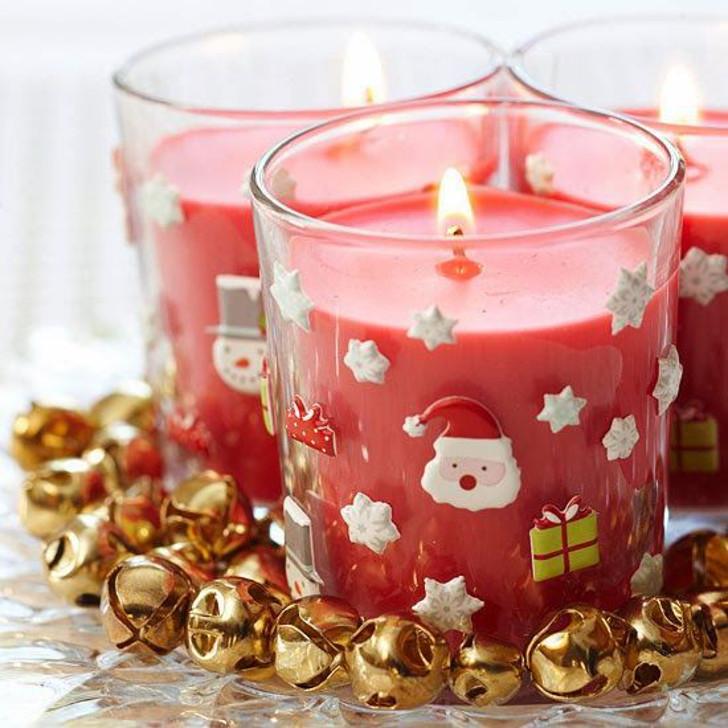 Velas decorativas de Natal 04