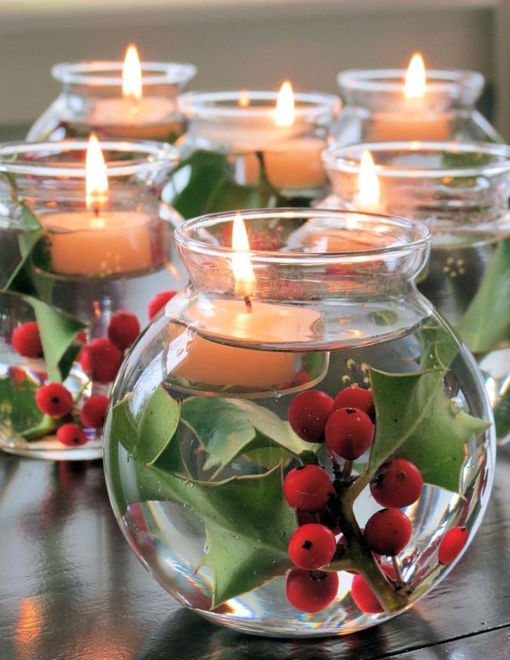 Velas decorativas de Natal 09