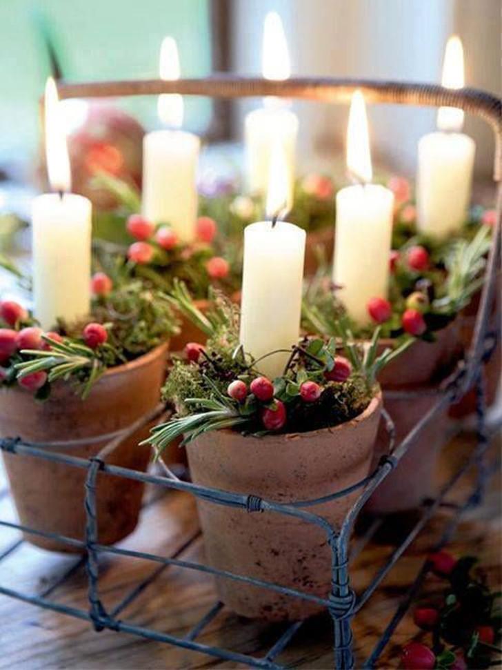 Velas decorativas de Natal 10