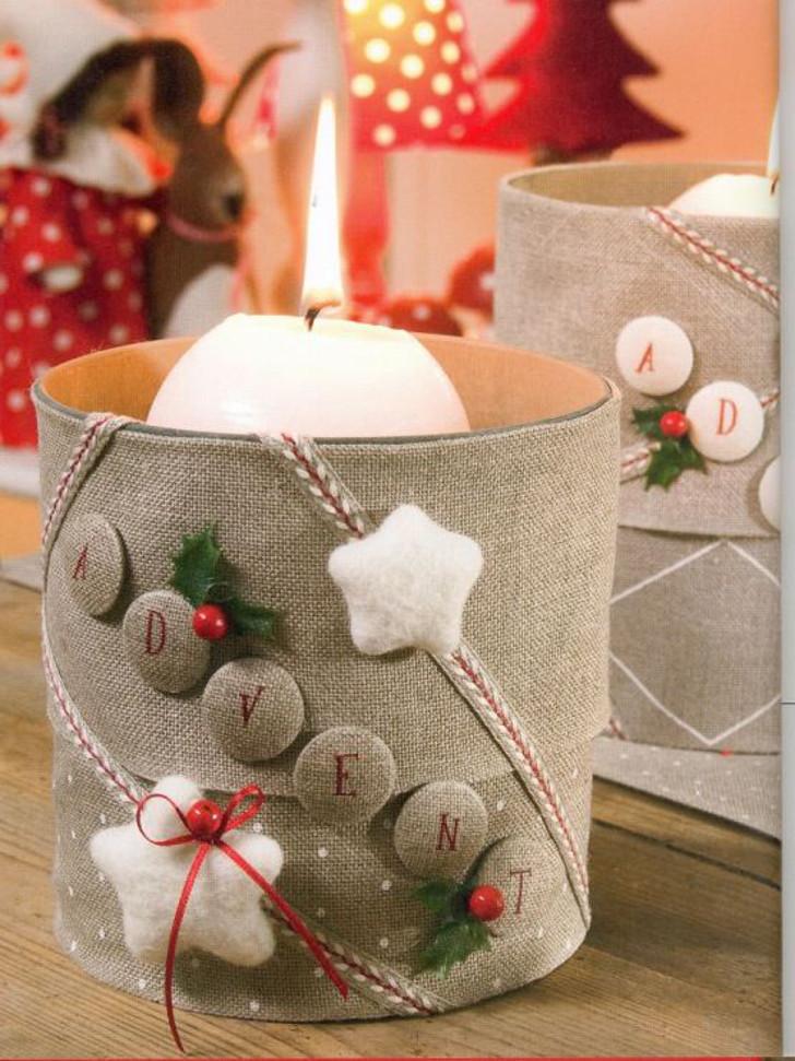 Velas decorativas de Natal 13