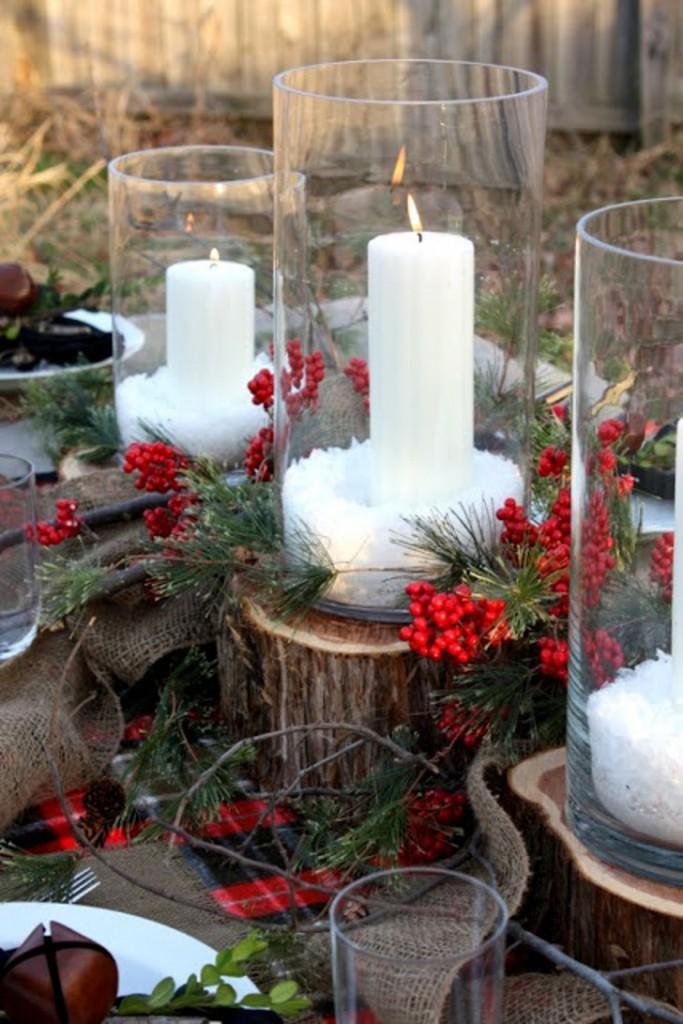 Velas decorativas de Natal 15