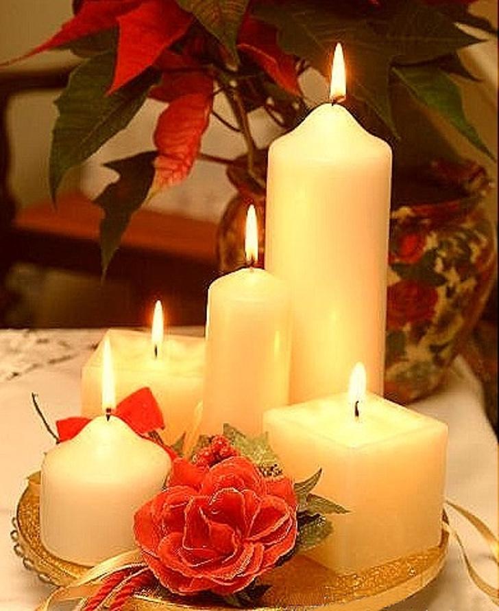 Velas decorativas de Natal 17