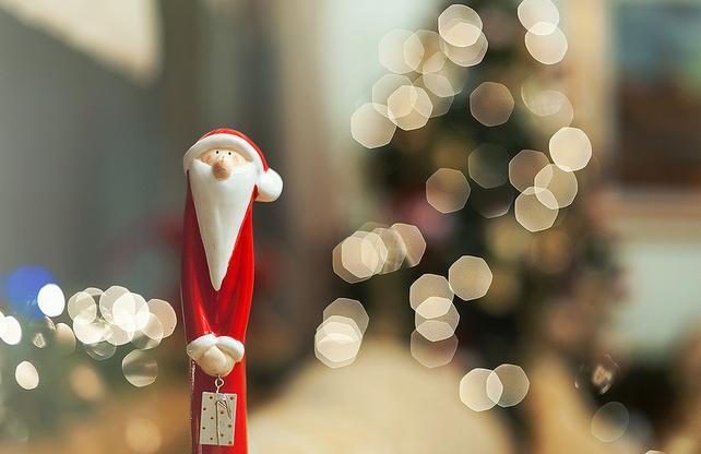 Papai noel de Natal, inspiração natalina