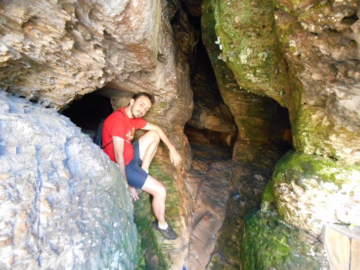 gruta em São THomé das Letras