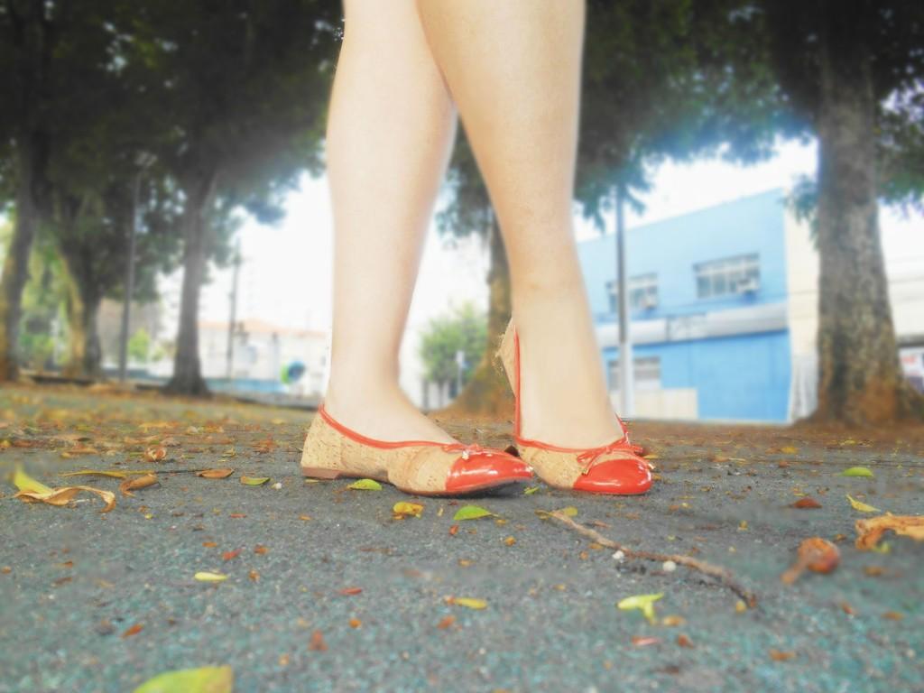 Sapatilhas sonhos dos pés