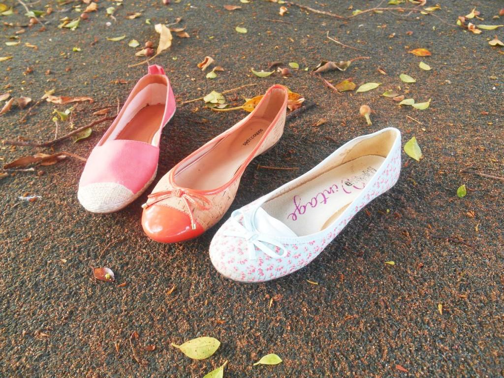 Sapatilhas Sonhos dos pés, Sapatilhas Moleca, Sapatilhas Via Mia