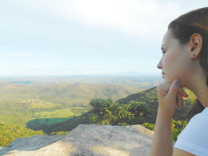 Vista da serra em São Thomé das Letras