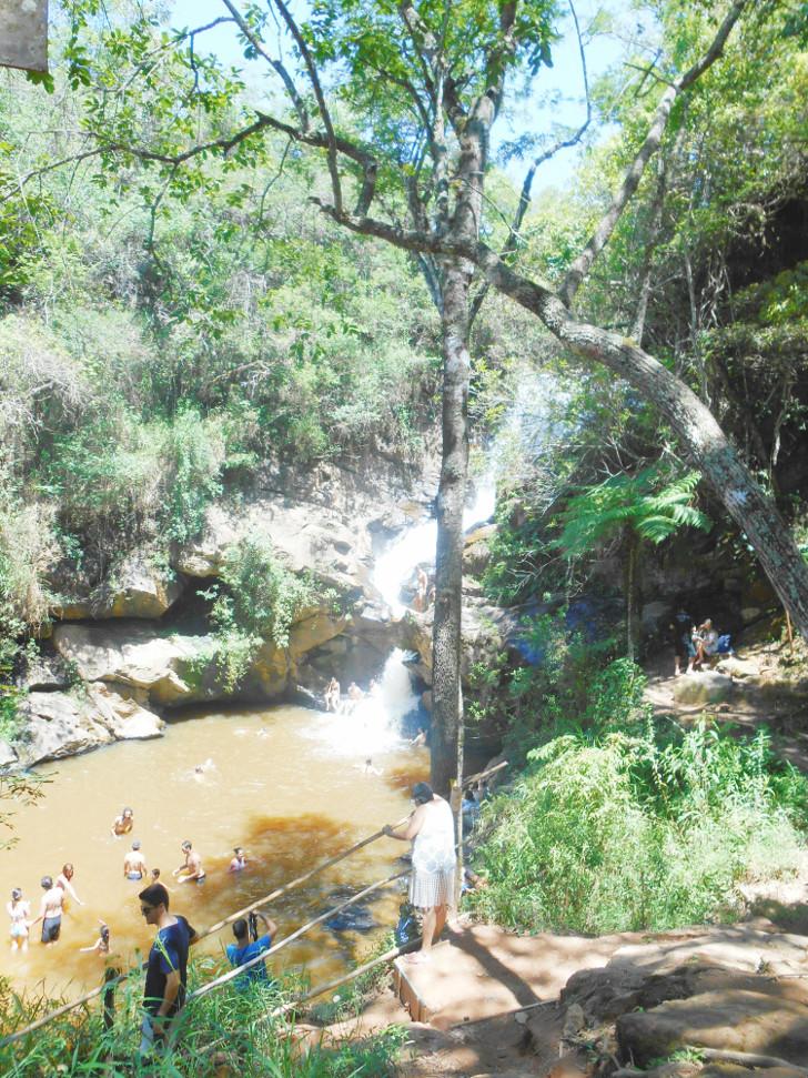 Cachoeira véu da noiva, São Thomé das Letras