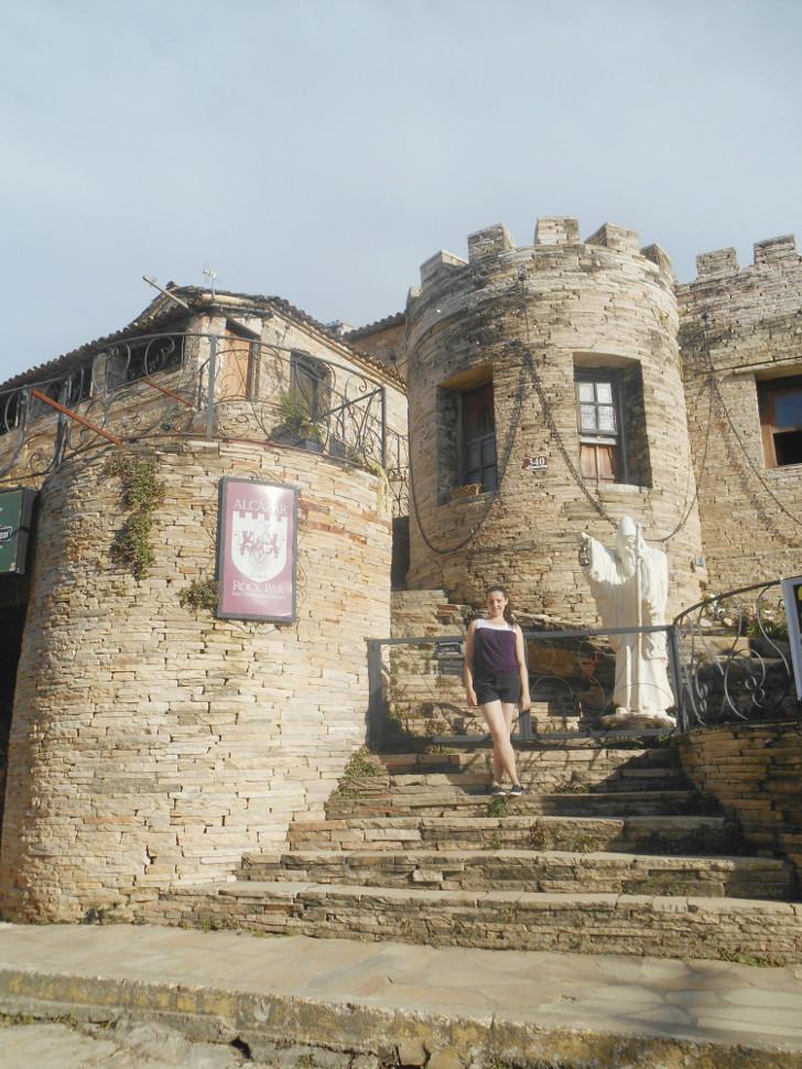 Castelo em São THomé das letras