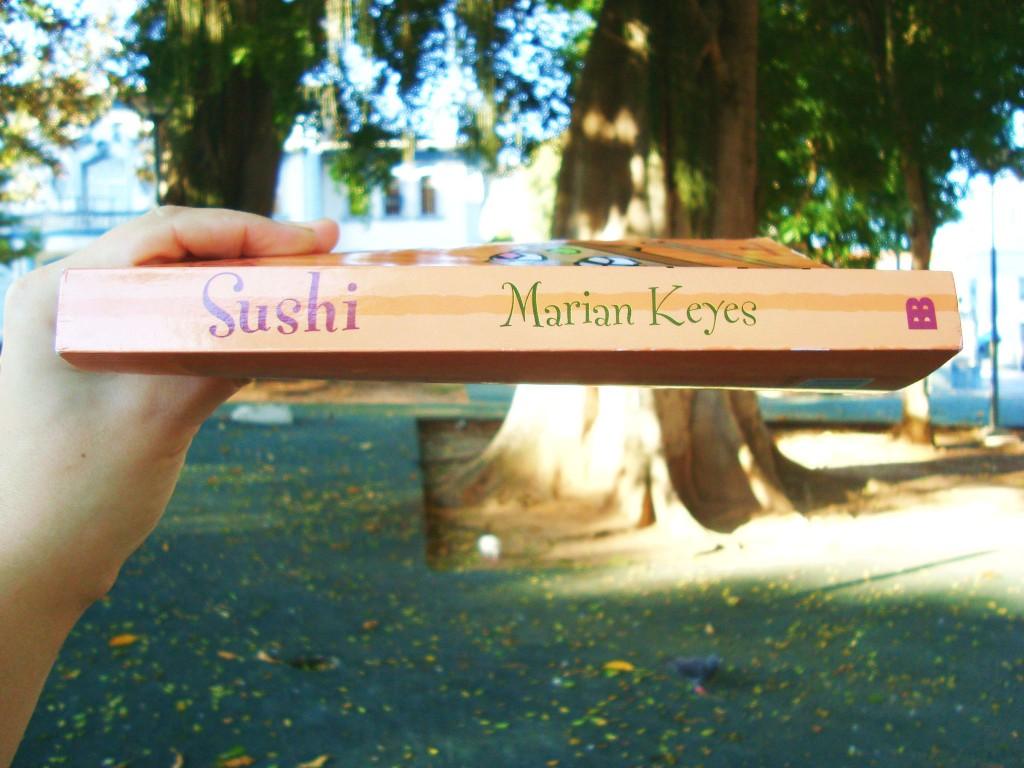 Lombada do livro Sushi