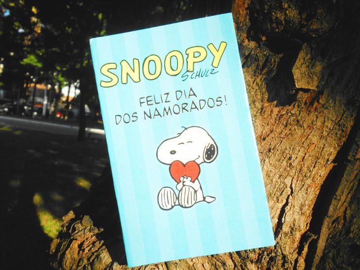 capa alternativa do Livro HQ Snoopy - feliz dia dos namorados