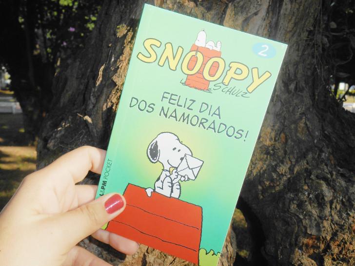 Livro HQ Snoopy - Feliz dia dos namorados