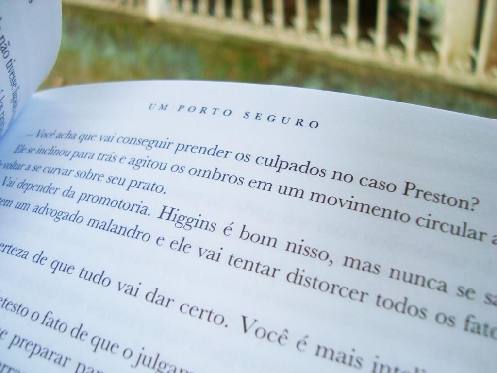 páginas do livro um porto seguro