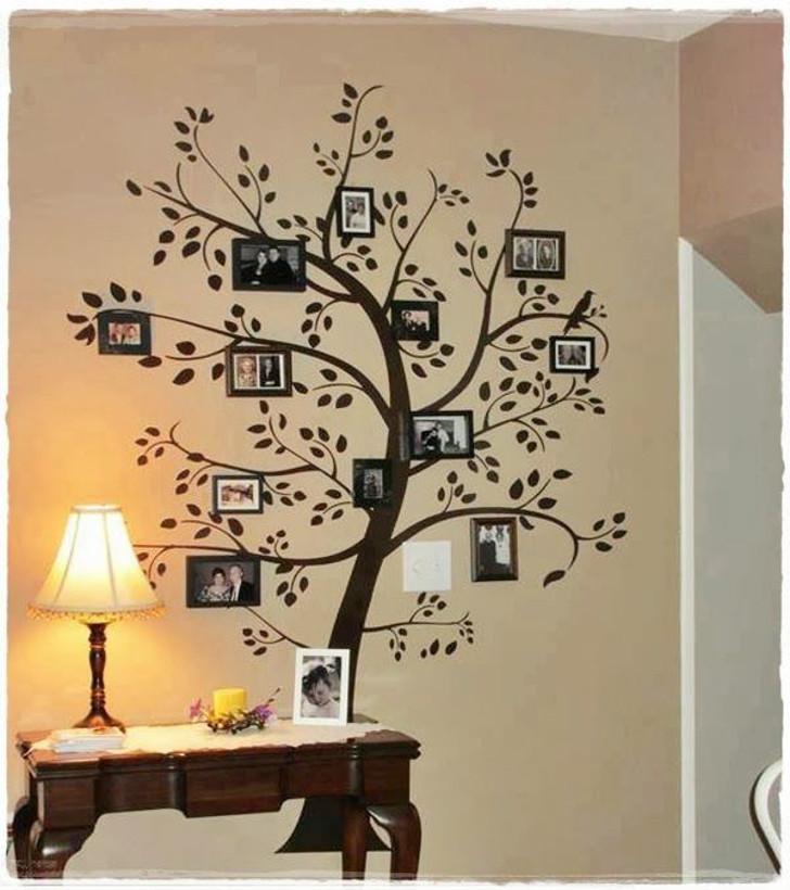 porta retrato em formato de árvore