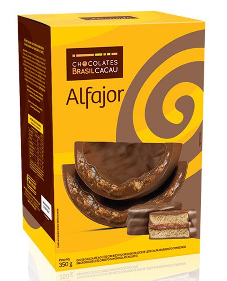 ovo alfajor - chocolates brasil cacau