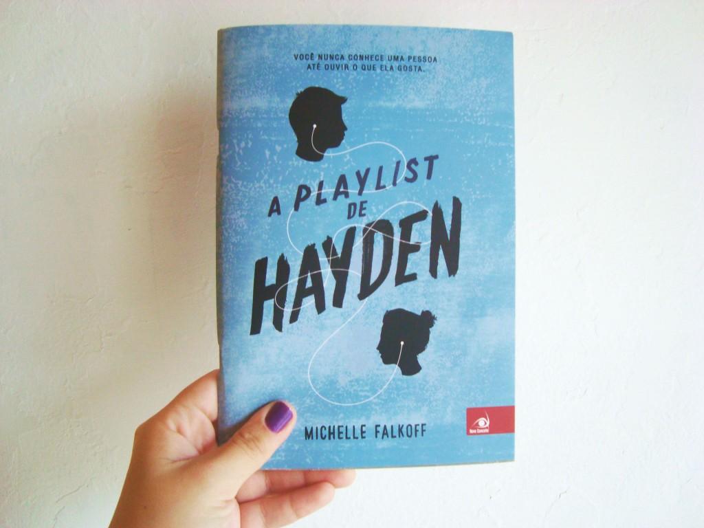capa do livro: a playlist de hayden