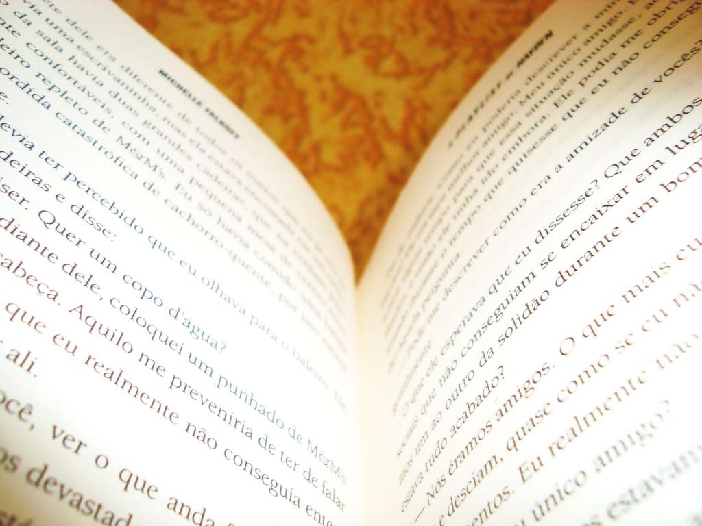 páginas do livro: A playlist de hayden