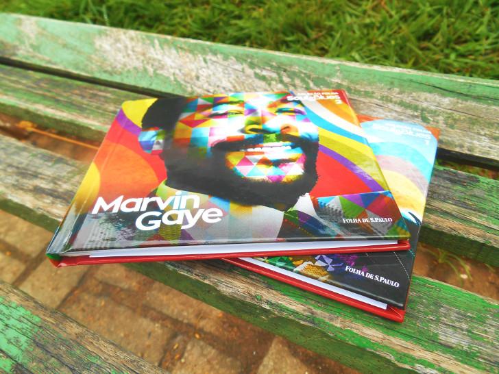 Coleção: Folha Soul & Blues (Marvin Gaye e Stevie Wonder)