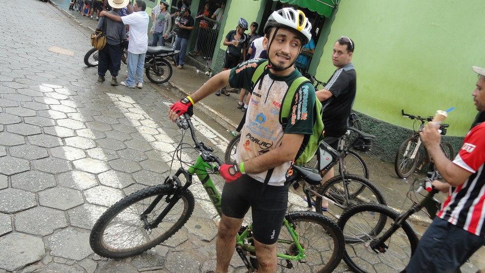 Eu e minha bicicleta: La Poderosa. EM nossos dias de glória.